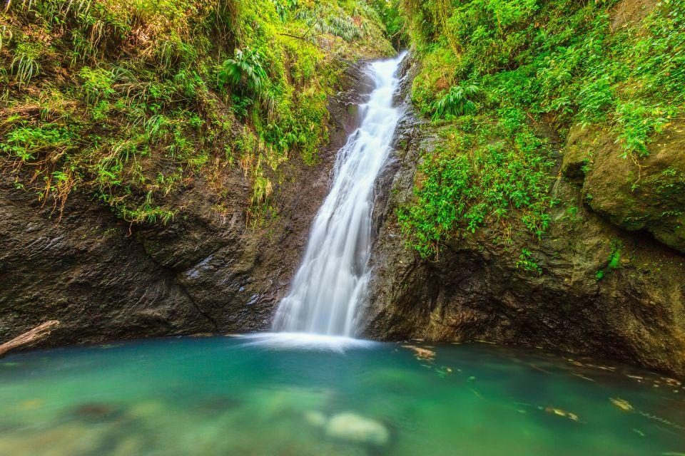 Les paysages, grenade, caraïbes, Antilles, amérique, amérique du nord, forêt tropicale, cascade, chute d'eau, trois soeurs, piscine, coin