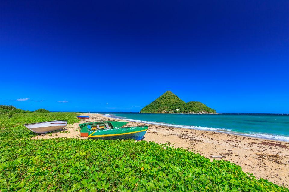 Les côtes, grenade, caraïbes, Antilles, amérique, amérique du nord, forêt tropicale, plage, levera