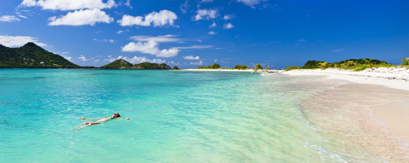 "Die ?Trois Îlots?, Die ""Trois Îlots"", Die Küsten, Grenada"