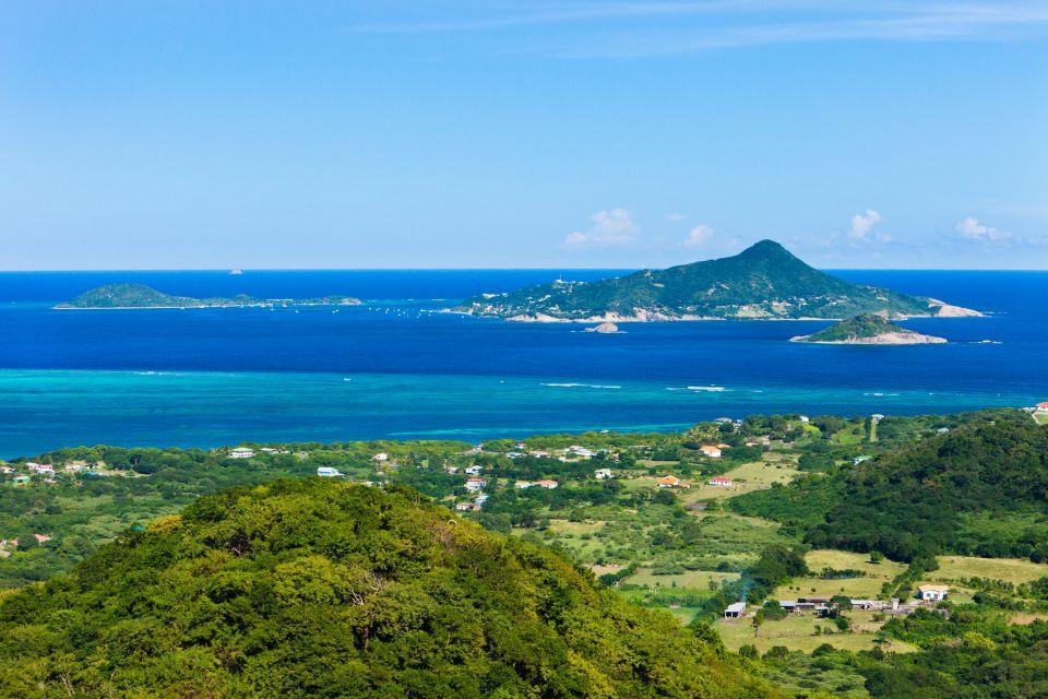 Les côtes, Petite martinique, petite dominique, grenade, caraïbes, Antilles, amérique, amérique du nord