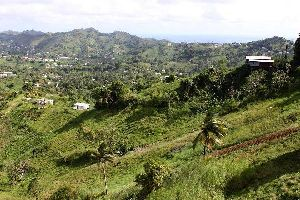 Saint-Vincent , A view of Mesopotamia , Saint-Vincent and The Grenadines