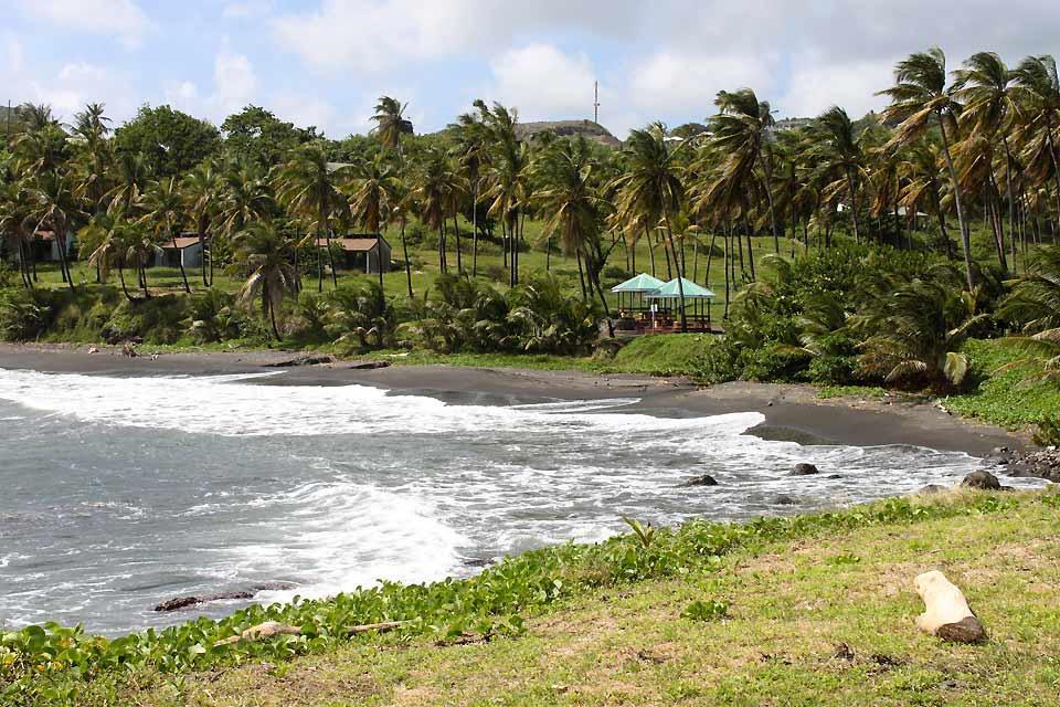 Die Grenadinen , Der Strand von Argyle , St-Vincent und die Grenadinen