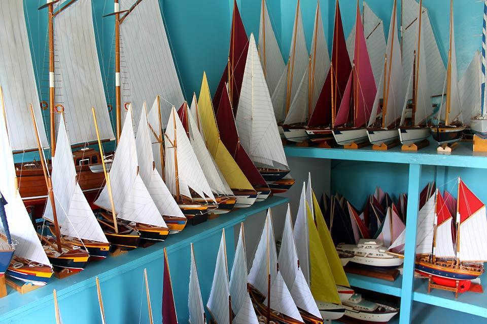 Bequia , Bequia's model boats , Saint-Vincent and The Grenadines