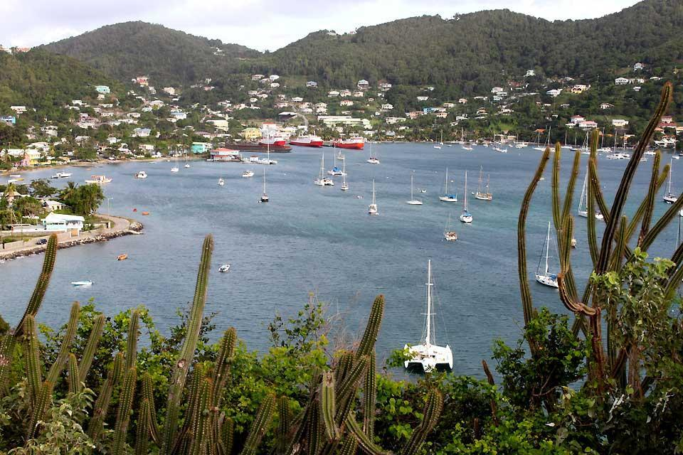 Bequia , Port Elizabeth in Bequia , Saint-Vincent and The Grenadines