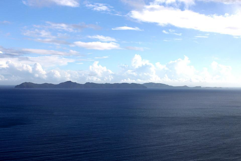 Bequia , View of Bequia from Saint Vincent , Saint-Vincent and The Grenadines
