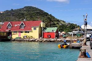 Union Island , Clifton on Union Island , Saint-Vincent and The Grenadines