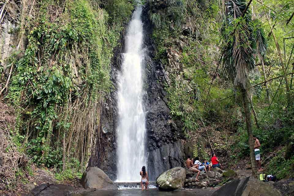Die Wale , Darkview Falls , St-Vincent und die Grenadinen