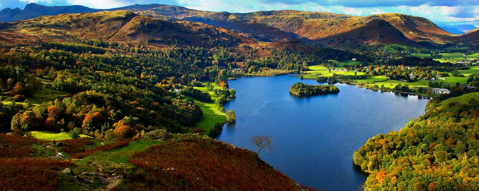 Lake District , El Distrito de los Lagos , Reino Unido