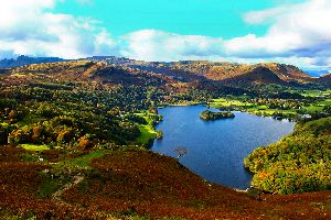Le Lake District , Royaume-Uni