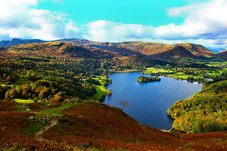 Das Lake District , Lake District , Großbritannien