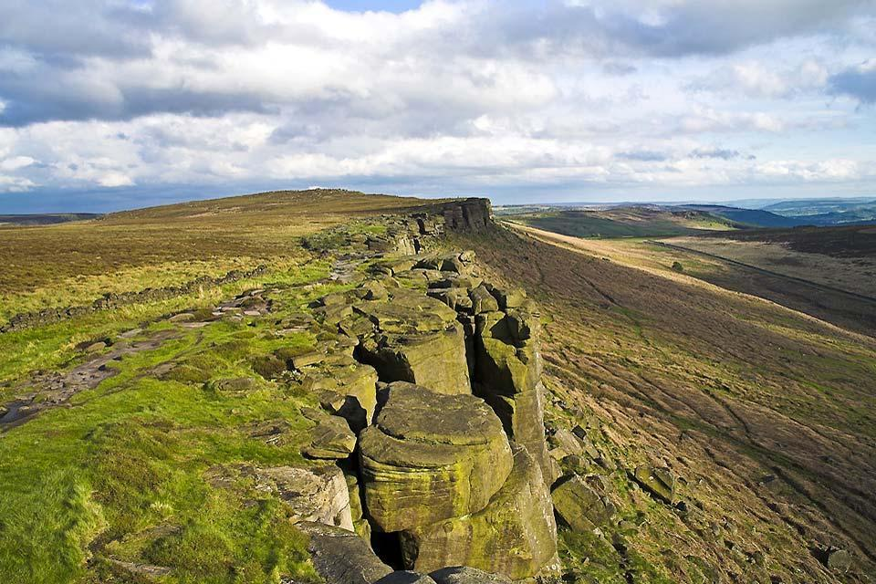 The Midland Canals , Stanage Edge, Derbyshire, England , United Kingdom