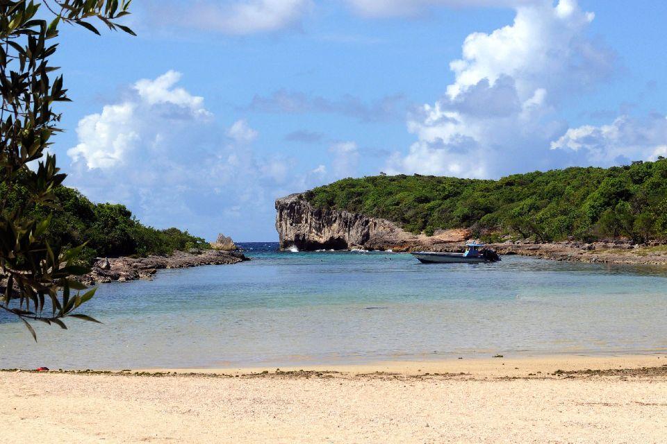 La Porte de l'Enfer , Les îles de Guadeloupe