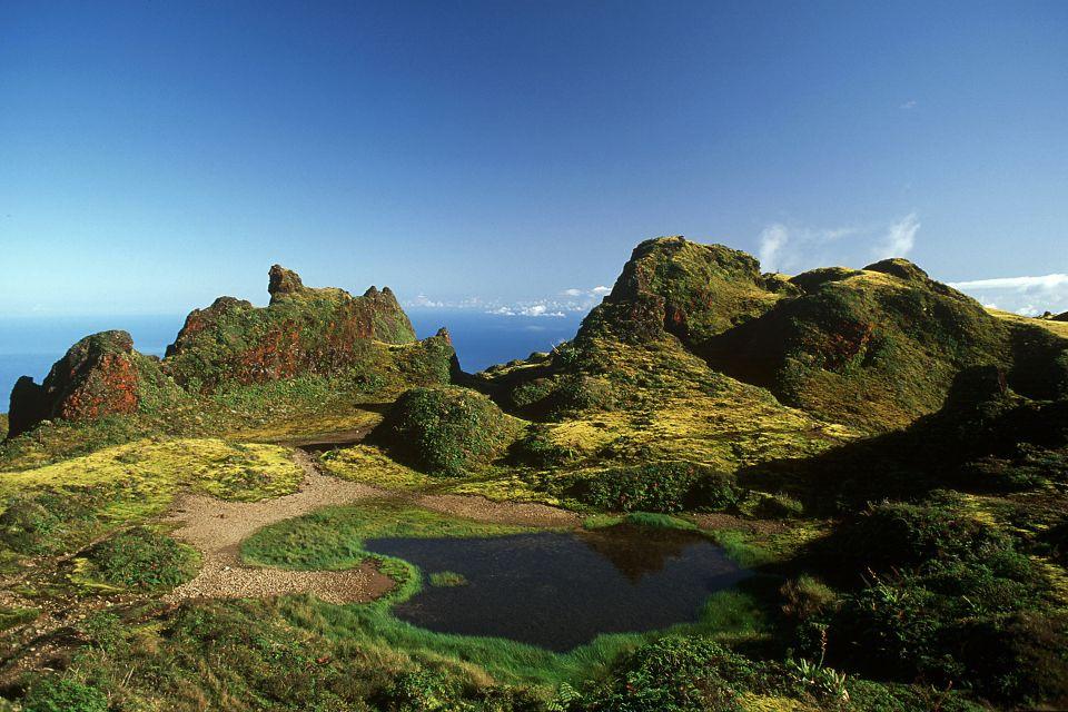 The summit of 'La Soufrière', The Soufrière volcano, Landscapes, Pointe à Pitre, Guadelupe