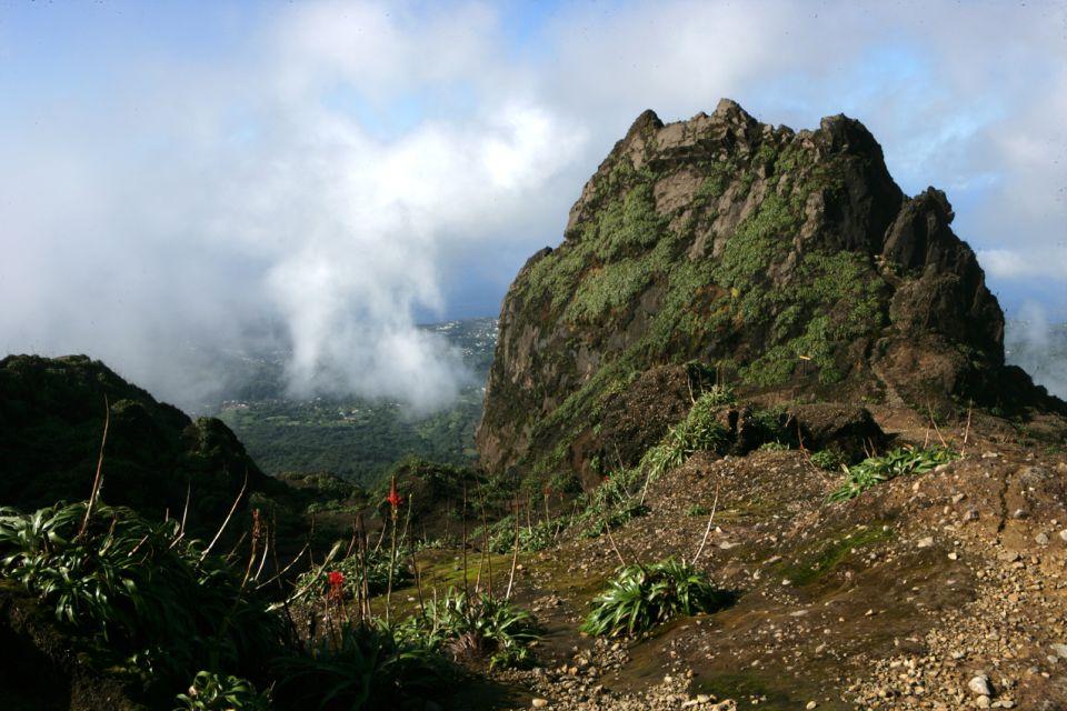 Bathing on 'La Soufrière', The Soufrière volcano, Landscapes, Pointe à Pitre, Guadelupe