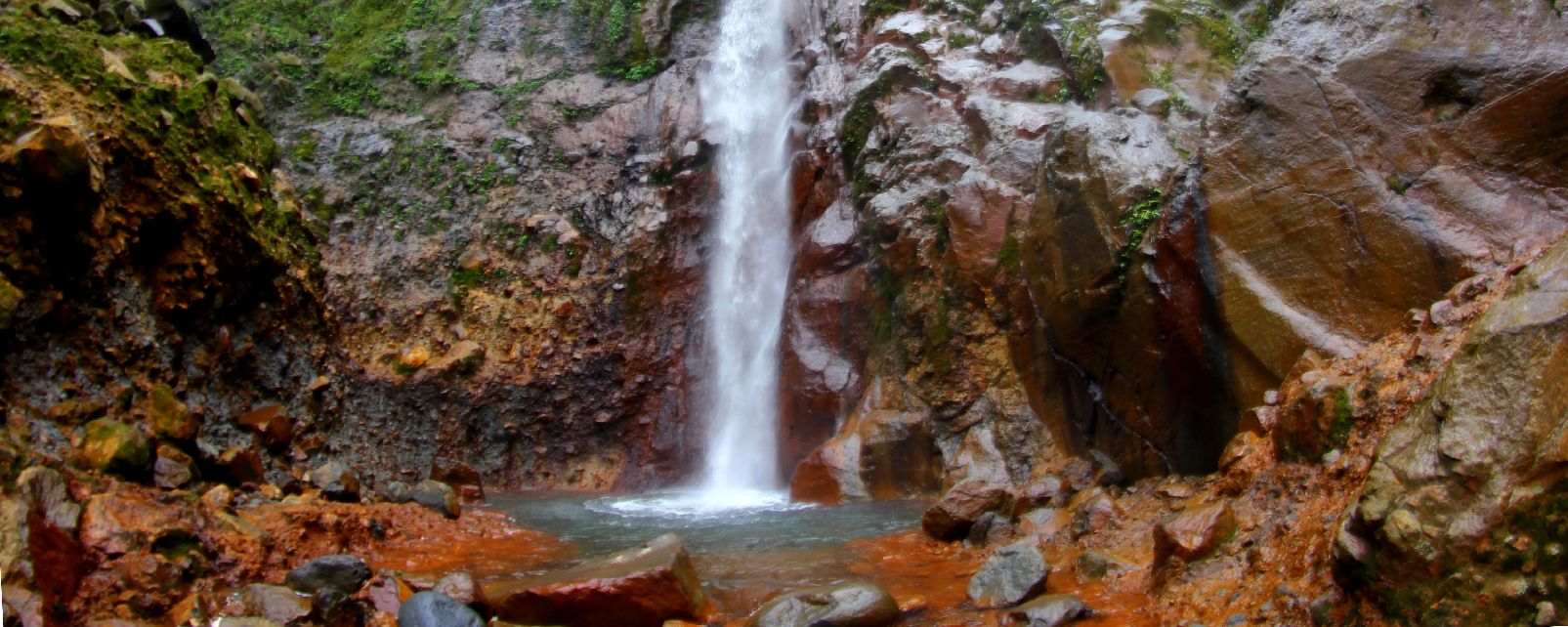 The Carbet Waterfalls , The three Carbet waterfalls , The islands of Guadeloupe