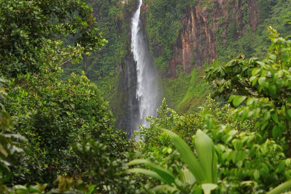 The Carbet Waterfalls , The islands of Guadeloupe