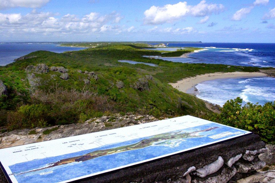 The viewing point at Pointe des Châteaux, The pointe de la Grande Vigie , Coasts, Pointe à Pitre, Guadelupe