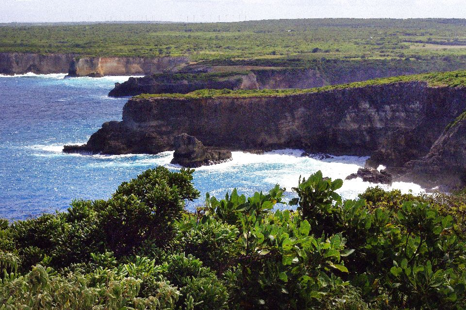 La punta della Grande Vigie (Grande Vedetta) , La Punta della Grande Vigie (Grande Vedetta) , Le isole della Guadalupa