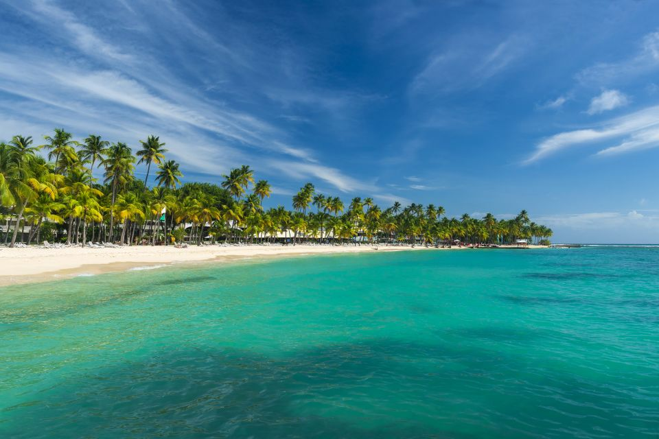La Caravelle, the most beautiful beach here,  La pointe des Châteaux , Coasts, Guadelupe