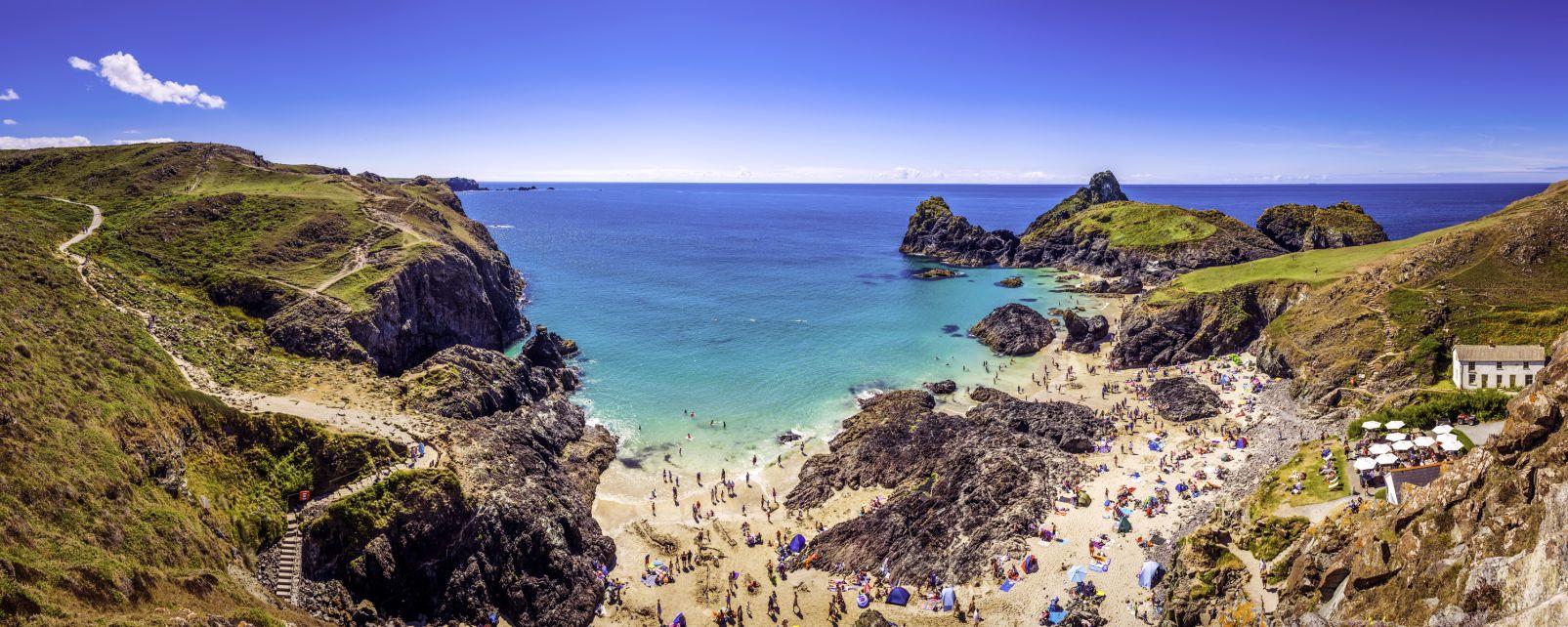 Les côtes de Cornouailles , La Cornouailles en Angleterre , Royaume-Uni