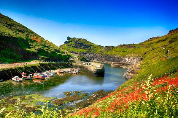 Falesie di gesso in Cornovaglia, Le coste della Cornovaglia, Le rive, Inghilterra
