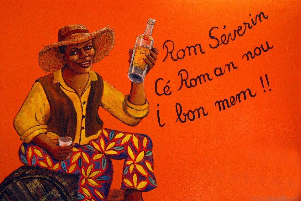 Rum , Making rum , The islands of Guadeloupe