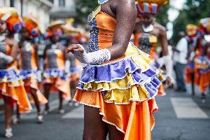 Le carnaval , Les îles de Guadeloupe