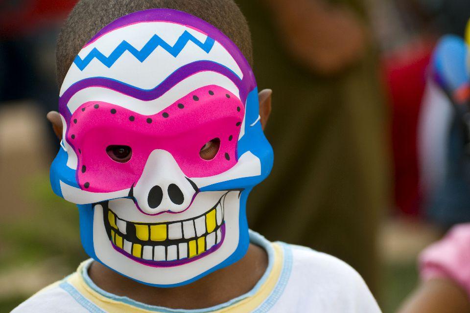 Le carnaval , Costumes , Les îles de Guadeloupe