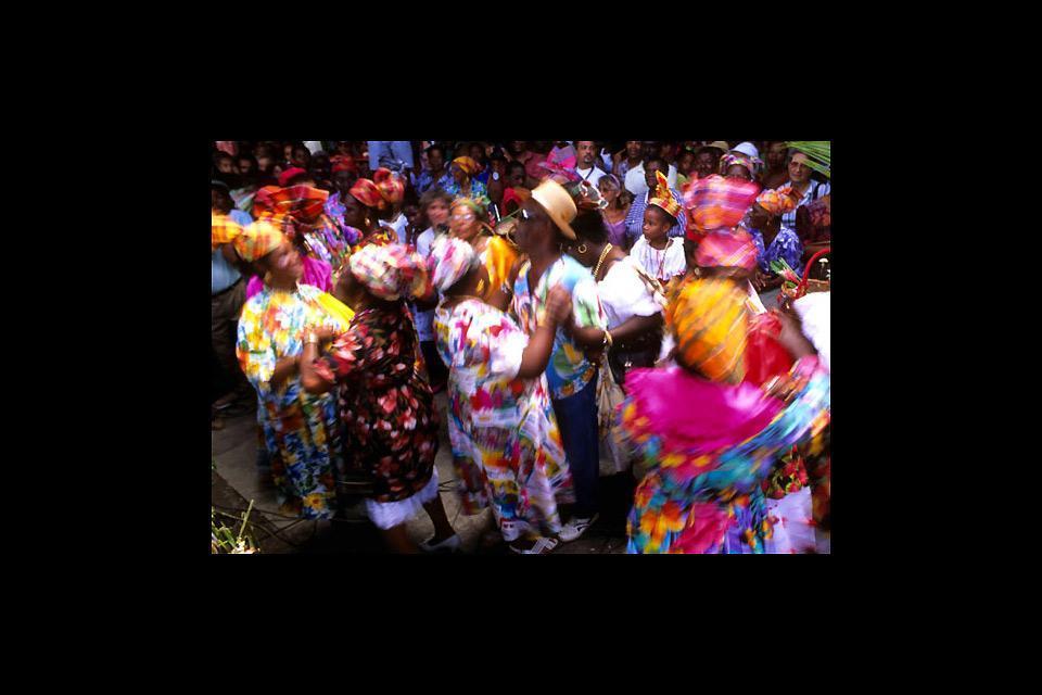 Le carnaval , Danses , Guadeloupe