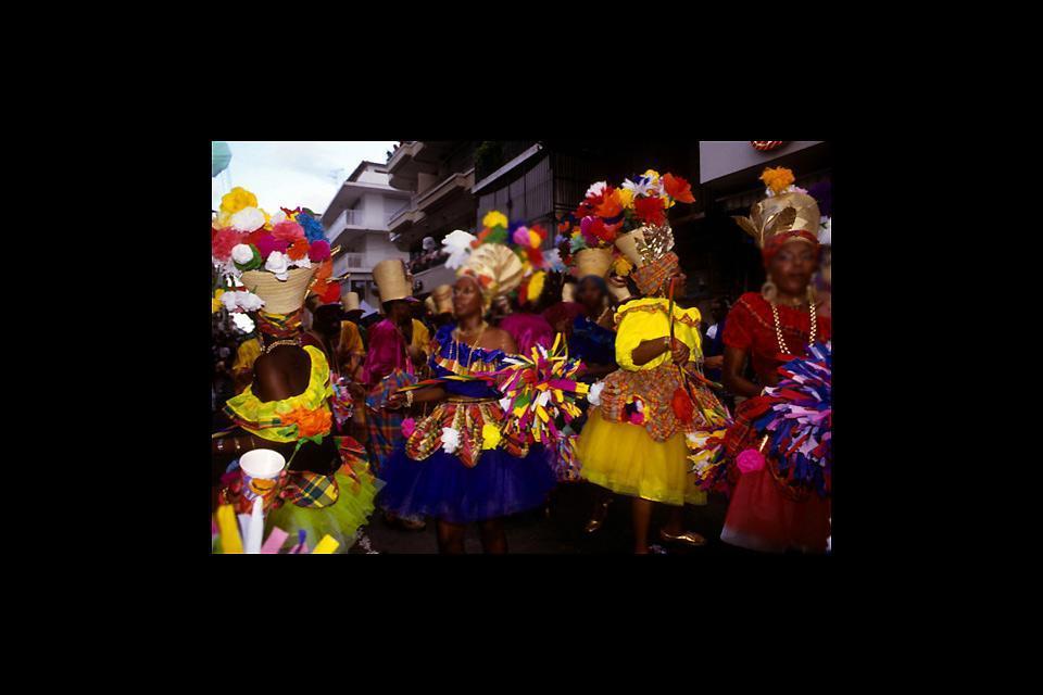 Le carnaval , La parade , Guadeloupe