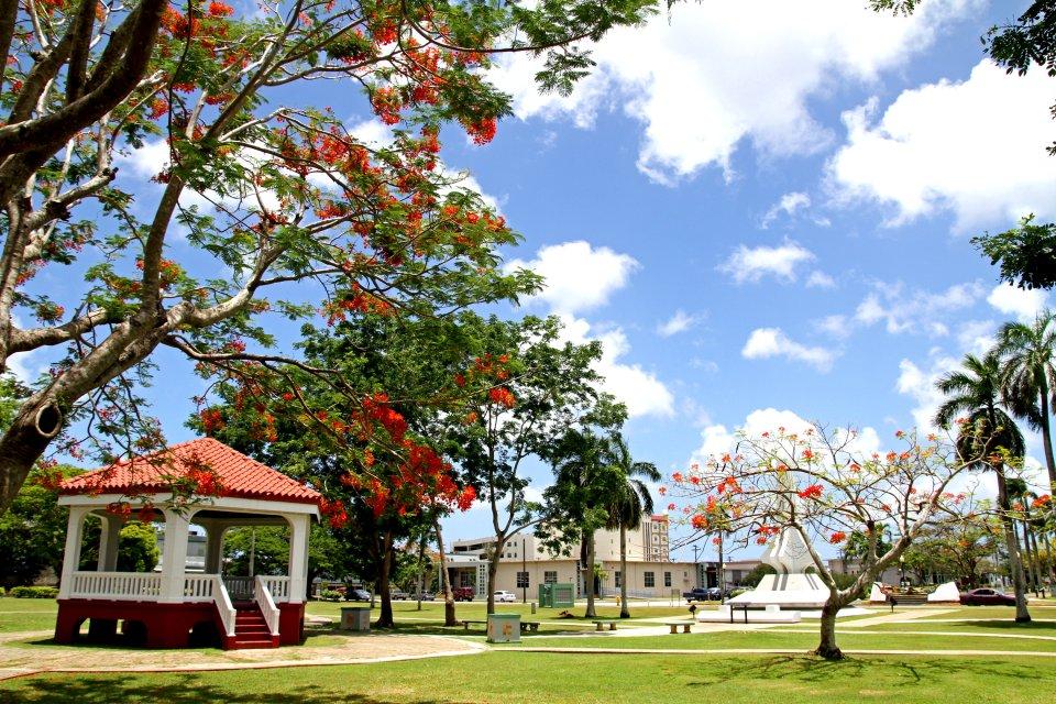 Die spanischen Überreste , Guam