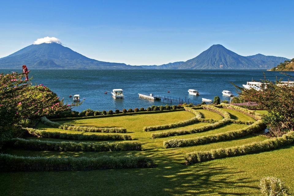 Los volcanes , Guatemala