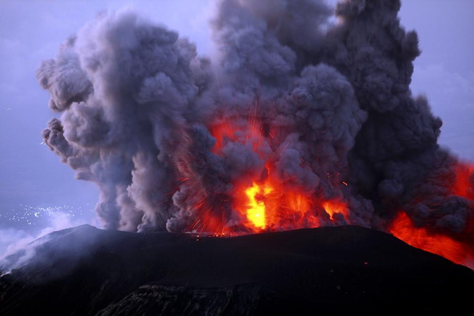 Los volcanes , Volcán en Guatemala , Guatemala