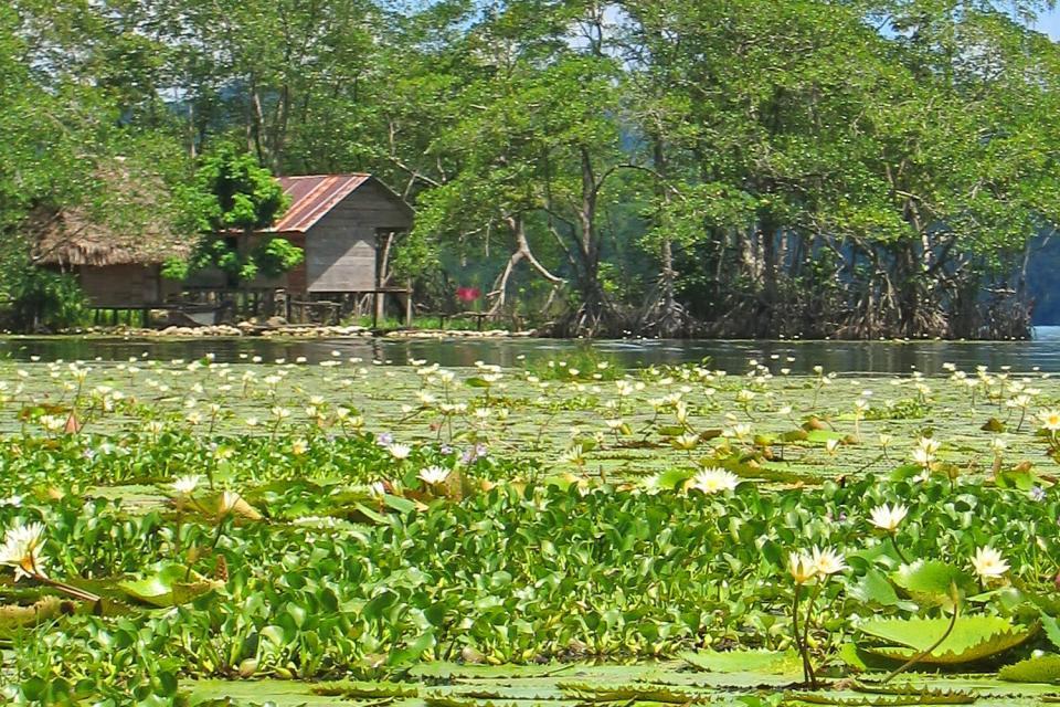 La región de Río Dulce , El Río Dulce en Guatemala , Guatemala