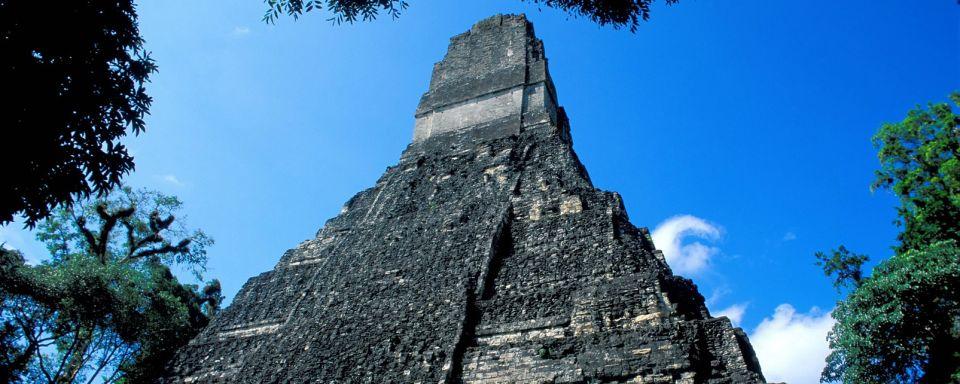 Los templos antiguos de Tikal