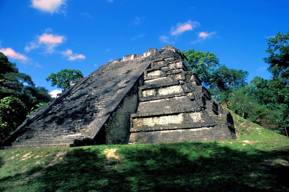 Las ruinas de Tikal , Guatemala