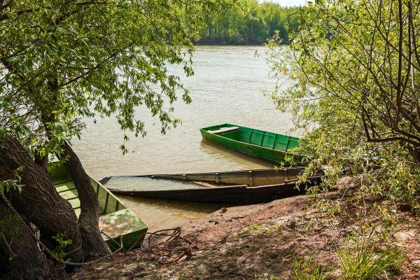 Der Fluss Maroni, Auf dem Wasser des Maroni, Die Landschaften, Französisch-Guyana