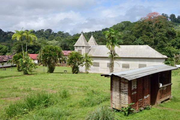 Das Dorf Saül, Die Landschaften, Französisch-Guyana