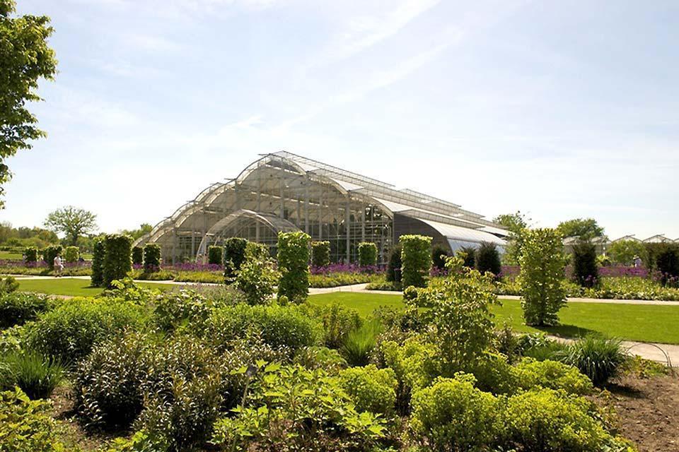 Die Flora , Die Stadt Wisley in der Grafschaft Surrey , Großbritannien