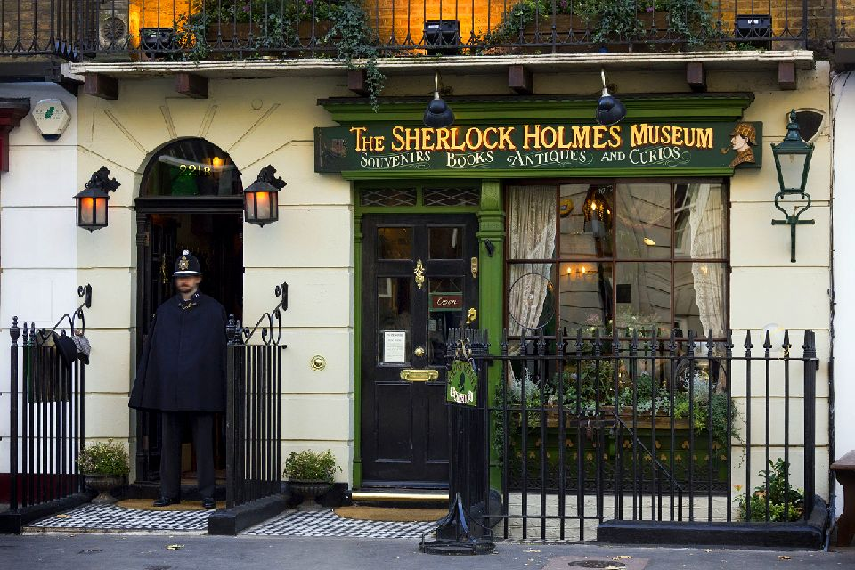 London museums , Sherlock Holmes Museum, London , United Kingdom