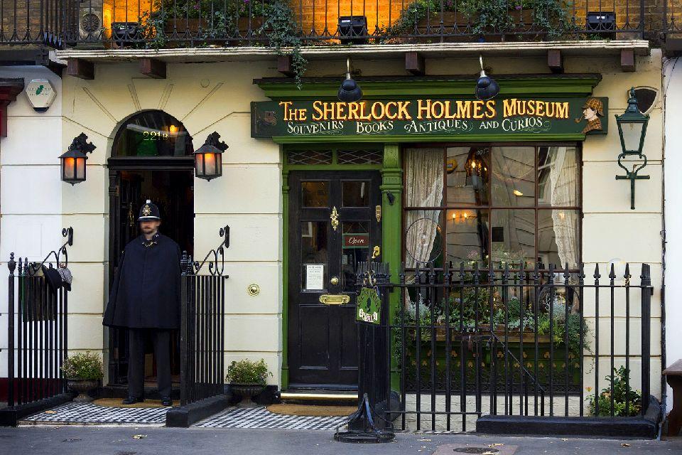 Les musées londoniens , Le Sherlock Holmes Museum, Londres , Royaume-Uni
