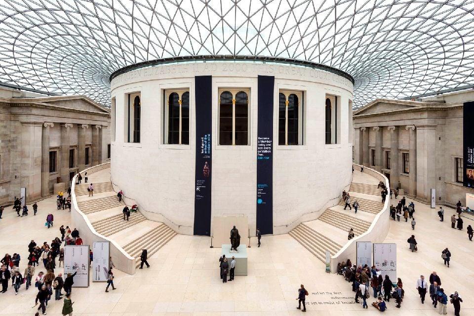 Les musées londoniens , Le British Museum, Londres , Royaume-Uni