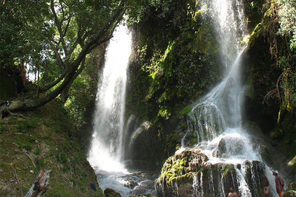 La cascade Saut d'Eau , Haïti