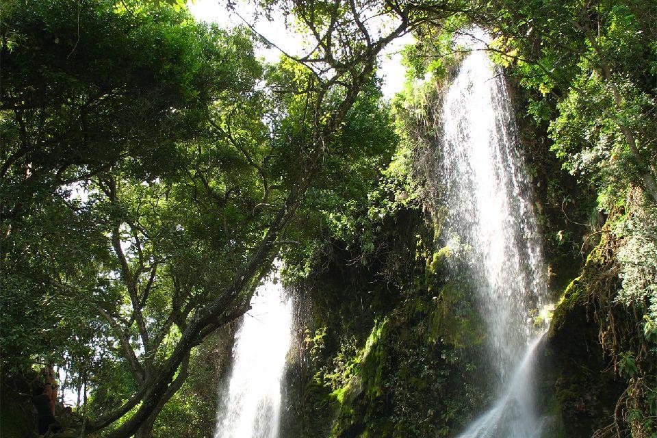 Saut d'Eau waterfall , Haïti