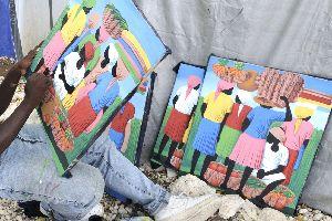 La peinture naïve , Haïti