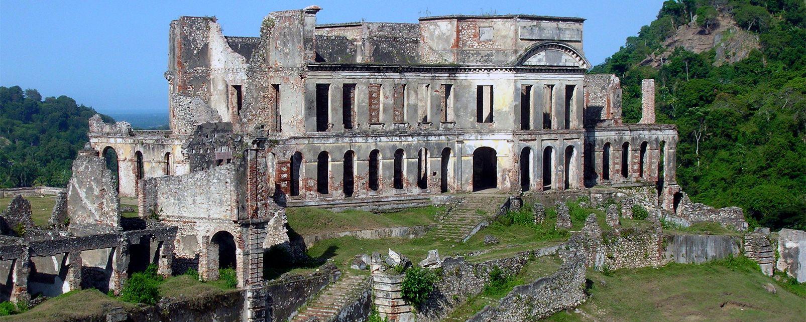 Le palais Sans Souci , Haïti