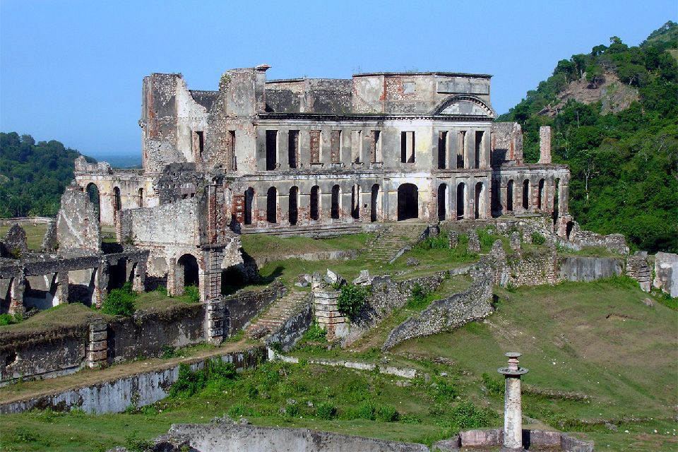 Der Sans Souci Palast , Der Palais Sans-Souci , Haiti