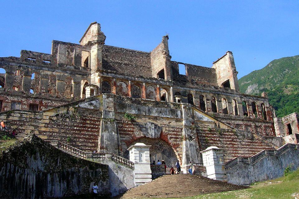 Der Sans Souci Palast , Haiti