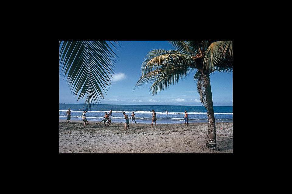 Le spiagge di Tela , Honduras