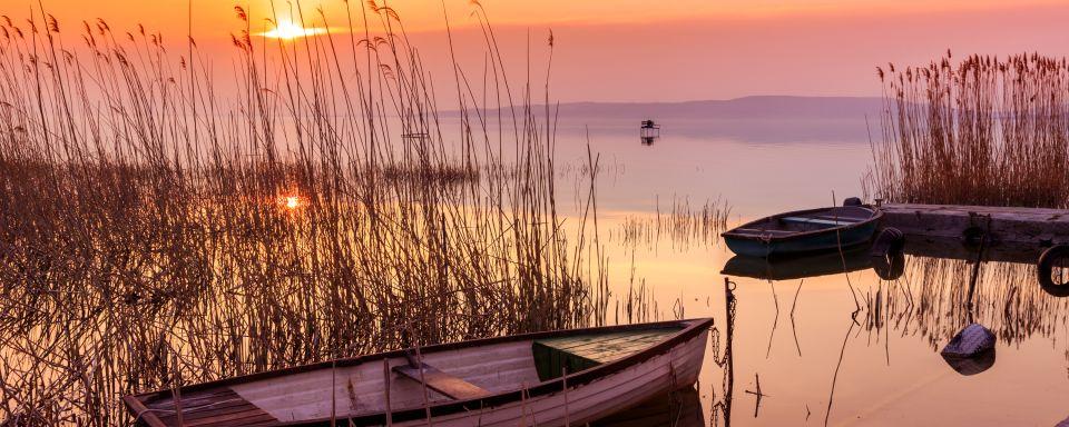 El lago Balaton